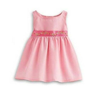 """15"""" Doll Clothes Outfit for American Girl-Bitty Baby Starter Pink Jumper Dress"""