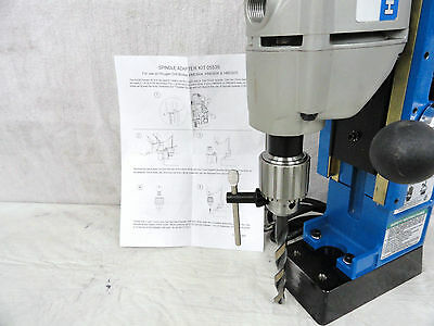 Hougen Drill Chuck&adapter For Model's,hmd904,hmd908,hmd925 W/hex Drive Spindles