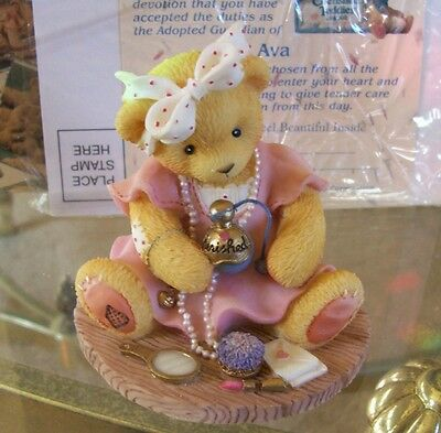 Cherished Teddies Avon Exclusive Ava NIB - last in series & my last one