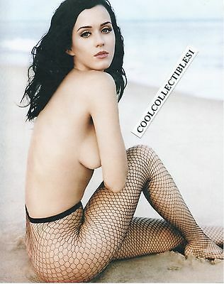 "KATY PERRY 8X10 COLOR PHOTO  ""SEXY, NUDE"""
