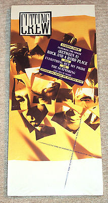 Cutting Crew - The Scattering LONGBOX NEW SEALED RARE 1989 Cut-out