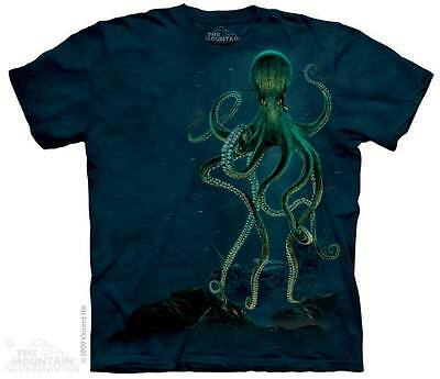 The Mountain Octopus Sea Ocean Water Wild Nature Nautical T Tee Shirt S-5Xl