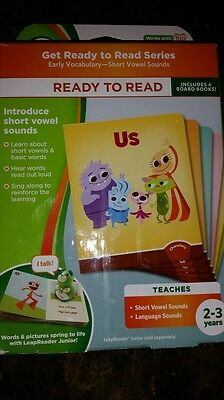 NEW LEAP FROG LEAP TAG READER TAG JUNIOR READY TO READ BOARD BOOK SET VOCABULARY