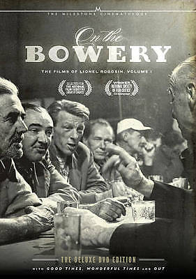 On the Bowery: The Films of Lionel Rogosin, Vol. 1 (DVD, 2012, 2-Disc Set)
