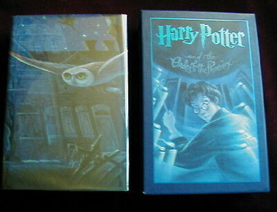 J.K. Rowling - HARRY POTTER & THE ORDER OF THE PHOENIX - 1st  DELUXE