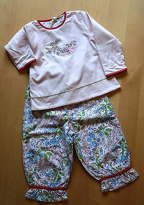 NWT Designer Kenzo Incredible top and pant set Beautiful 18 23 months NEW