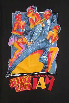 JELLY'S LAST JAM Broadway MUSICAL SHOW Gregory Hines T-Shirt - Made in USA