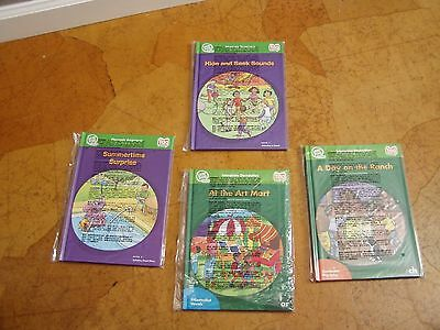 LeapFrog School Tag Reader 4 New books never opened Leap Frog