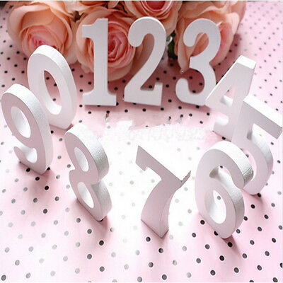 Hot 8cm*1.2cm Thick Wood Wooden Words Craft For Wedding Birthday Home Decor Sale