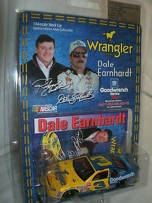 #3 DALE EARNHARDT SR. 1999 GOODWRENCH + WRANGLER ACTION COLLECTIBLES 1/64