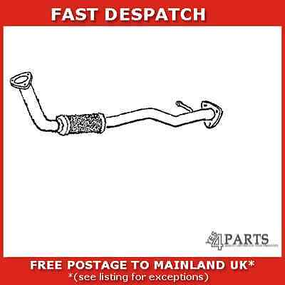 301816 2206 Klarius Exhaust Pipe For Daewoo Nubira 2 1997-