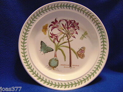 """Portmeirion Botanic Garden Mexican Lily 10"""" White Collectible Dinner Plate Dish"""