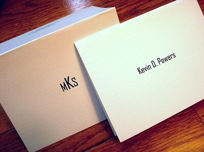 12 Personalized Note cards Thank You Cards, Blank Note Cards, GREAT GIFT FOR MEN