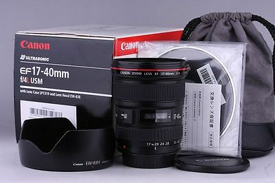 Canon EF 17-40mm f/4 L USM Lens with Box #2446