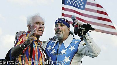 EVEL KNIEVEL Personally owned and WORN Multicolor Shirt-Shown@ EK Days in 2006!!