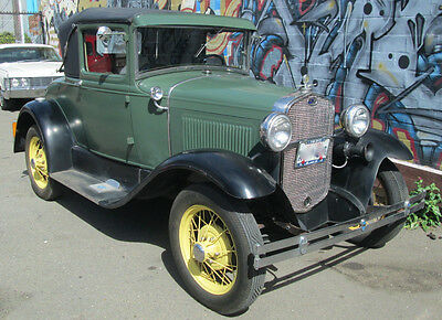 Ford : Model A 1930 ford model a sport coupe older restoration california car