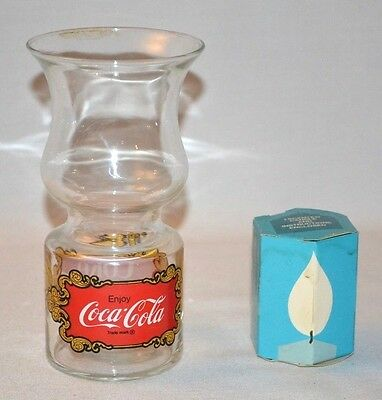 """COKE FLOATING CANDLE BY LIBBY 6.5"""" X 3.5"""""""