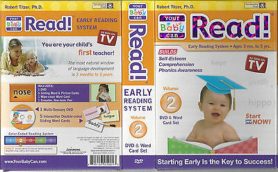 As Seen on TV Your Baby Can Read! Early Reading System, Volume 2