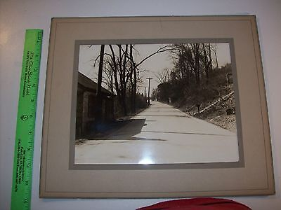 Easton Pa Large Photo Street Scene Vintage Antique Original The real thing