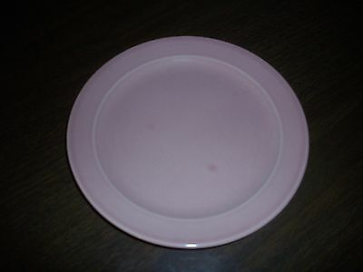 """EXCELLENT T.S. & T. CO. LURAY SHARON PINK 6 1/4"""" BREAD PLATE 1946"""