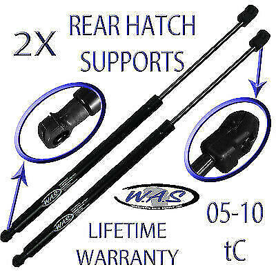2 New Rear Trunk Coupe Hatch Lift Supports Shock Strut Arm Rod For 05-10 tC
