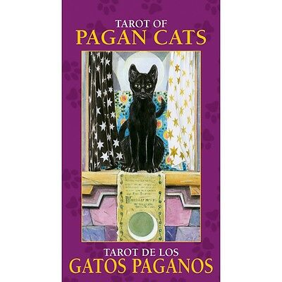 NEW Tarot of Pagan Cats MINI Deck Cards Lo Scarabeo