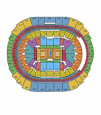 2 Los Angeles Clippers vs Memphis Grizzlies  Sec305 Row 3 04/11/15 (Staples)