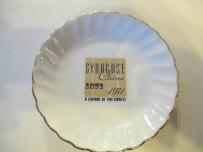Syracuse China 1871  1971 Anniversary Plate butter pat