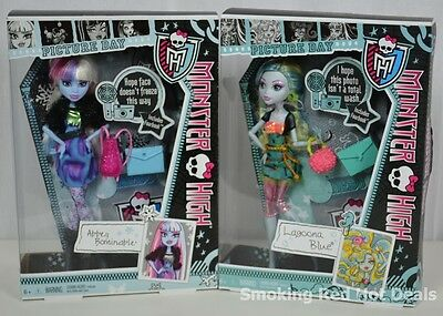 Monster High Picture Day Abbey Bominable Lagoona Blue 2 Dolls Girls Hot Toy New