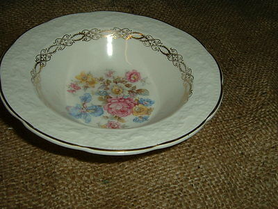EDWIN KNOWLES KNO260  RIMMED FRUIT BOWLS (3)
