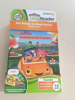 Leap Frog LeapReader Junior Tag UmiZoomi Playground Power Leap Reader