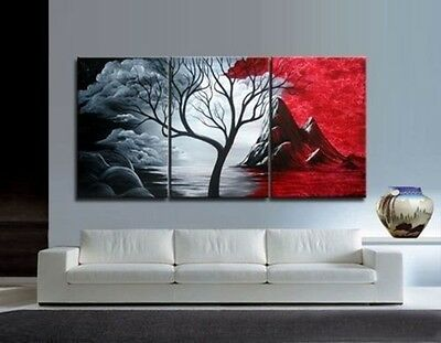 Exquisite Modern Abstract Huge Art Oil Painting Canvas Large Tree (No frame)