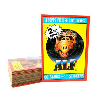 1988 Topps Alien Productions ALF Series 2 Trading Card Set (44) Nm/Mt