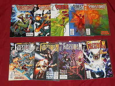 Firestorm #10 12 14 15 16 17 19 20 22 23 26 27 28 29 30 Lot Of 15 DC Comics 2005