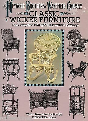 Heywood Brothers Wakefield Wicker Furniture 1898-1899 / Catalogue Reprint