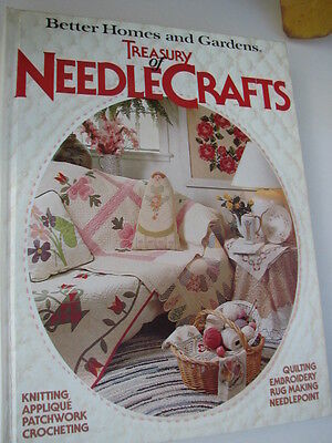 BETTER HOMES & GARDENS TREASURY OF NEEDLE CRAFTS BOOK 1982 NEEDLE CRAFTS SEWING