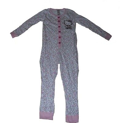 Girls  jumpsuit sleepsuit Pyjamas Official Hello kitty 5 6 7 & 8 Years Old