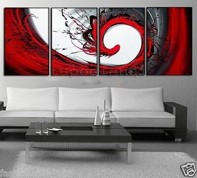 Modern Abstract Huge Art Oil Painting Handmade canvas on wall(no frame)