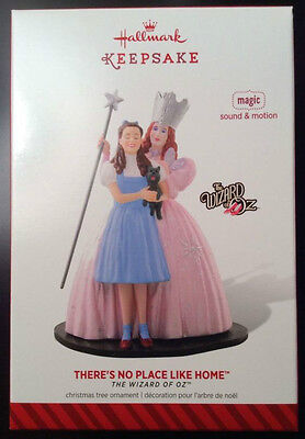 """2014 Hallmark Keepsake Ornament~The Wizard of Oz: """"There's No Place Like Home""""~"""