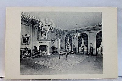 New York NY Frick Collection Living Hall Postcard Old Vintage Card View Standard