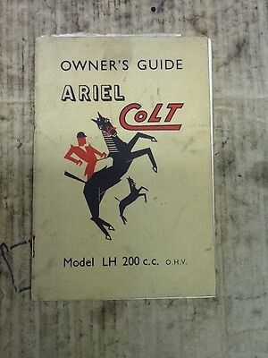 Ariel Owners Guide Model LH. 200CC