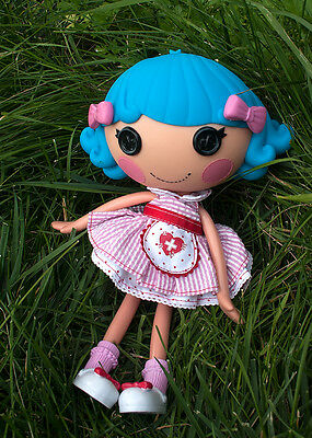 "Cute 2013 Lalaloopsy Doll 12"" Blue hair  original dressvery good used condition"