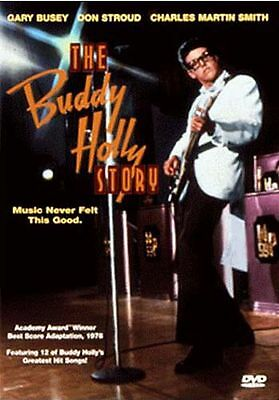 THE  BUDDY HOLLY STORY - GARY BUSEY - BRAND NEW SEALED - HARD TO FIND OOP - R1