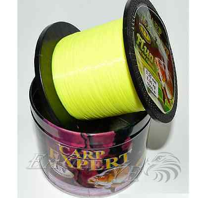 CARP EXPERT - UV FLUO 1000 mt /1100 yds new fishing line