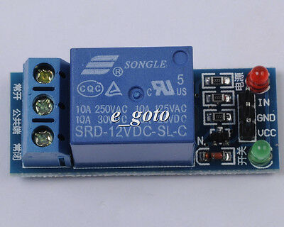 12V 1-Channel Relay Module Low Level Triger for Arduino PIC AVR Mega UNO