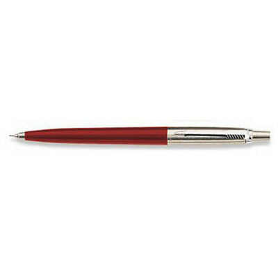 @@  PARKER JOTTER RED & STAINLESS  PENCIL  0.5mm LEAD NEW MADE IN USA