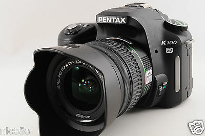 Pentax K100D DA 18-55mm AL Lens Kit w/Box Digital SLR Camera Exc from Japan 1216