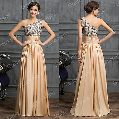 SUMMER SALE~ 2015 BEADED Formal Prom Dresss Party Gown Evening Bridesmaid Dress