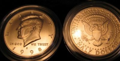 1998-S GEM Matte PROOF Kennedy  Half   FREE Shipping