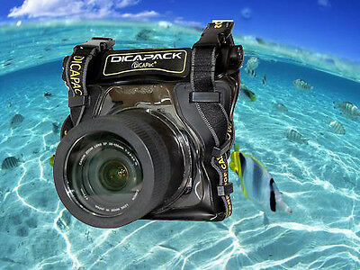 WATERPROOF MARINE CAMERA HOUSING CASE FOR SONY Alpha DSLR A350 A380 A390 A450